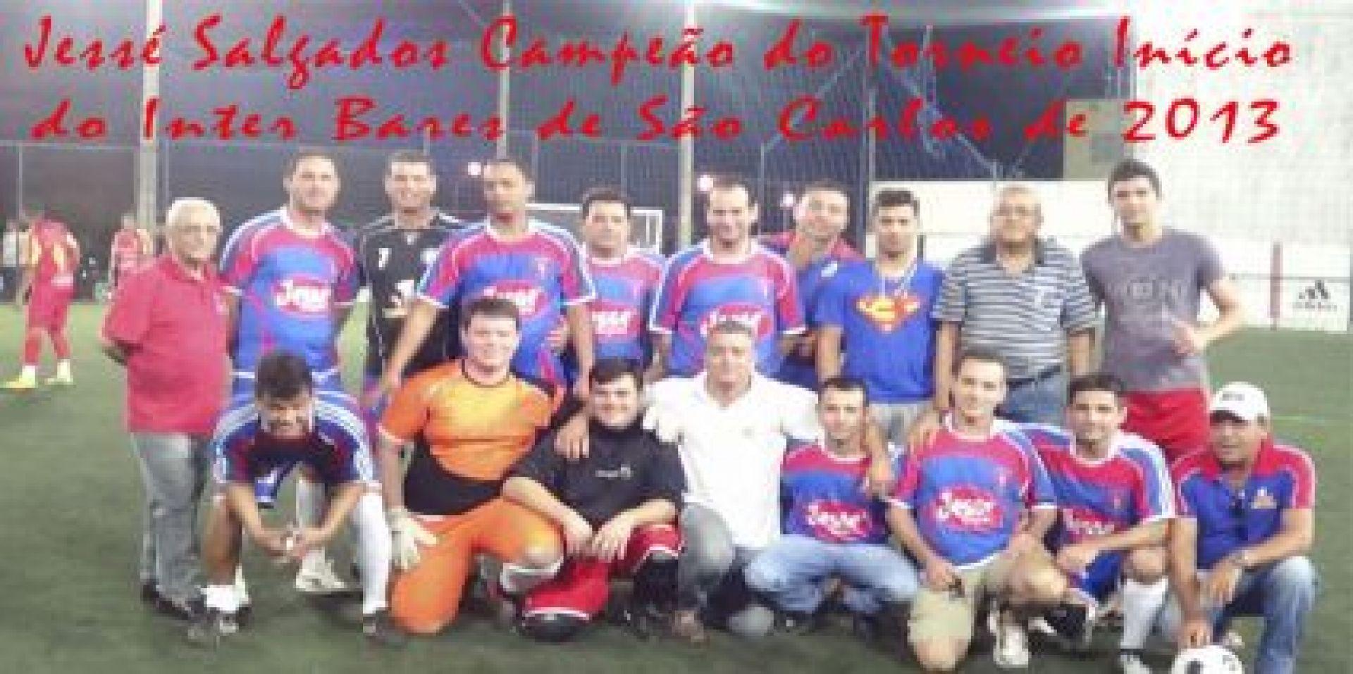 Campeã do torneio início Interbares de São Carlos de 2013